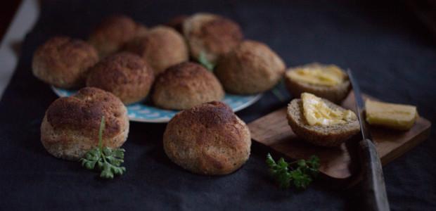 Grove glutenfrie rundstykker