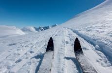 Mine ski på Fanaråken-1100034